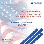 Webinar-The Vote graphic