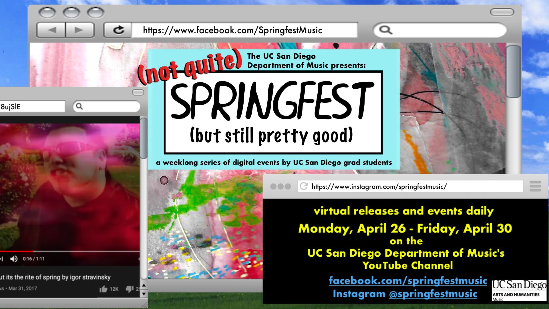 2021 Virtual Springfest graphic